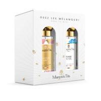 """Coffret cadeau duo MIX&MATCH. 2 parfums de 30ml """"Y'a d'la joie"""" et """"Tombé du ciel"""" par Margot&Tita. Découvrez une rencontre gourmande et fruitée."""