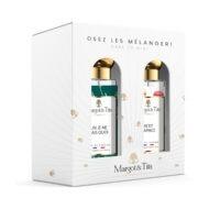 """Coffret cadeau duo MIX AND MATCH. 2 parfums de 30ml """"Un je ne sais quoi"""" et """"Petit Caprice"""" par Margot&Tita. Découvrez une rencontre agrumes et gourmande."""