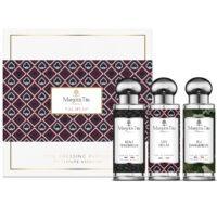 """Coffret cadeau trio L'as des as avec 3 parfums vegan de 30ml """"Beau ténébreux"""", """"L'as des as"""" et """"Jeu dangereux"""" par Margot&Tita. Découvrez des notes boisées et fruitées."""