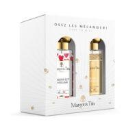 """Coffret cadeau duo MIX AND MATCH. 2 parfums de 30ml """"L'amour est dans l'air"""" et """"Week-end à Arcachon"""" par Margot&Tita. Découvrez une rencontre florale."""