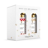 """Gift box duo MIX AND MATCH 2 30ml perfumes """"So we dance"""" and """"All night long"""" by Margot&Tita. Discover a sweet and floral meeting."""
